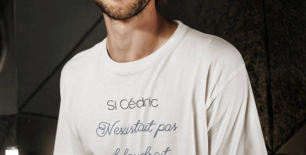 T-shirt Si votre prénom n'existait pas il faudrait l'inventer