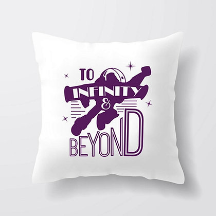 Housse de coussin To infinity and beyond