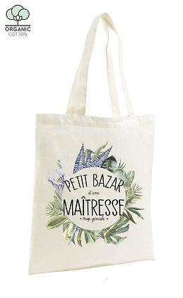 Tote Bag Petit bazar d'une maîtresse trop géniale