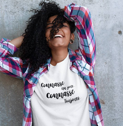 Sweat Pull Over Connasse un jour connasse toujours