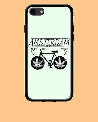 Coque mobile Iphone Amsterdam weed 353