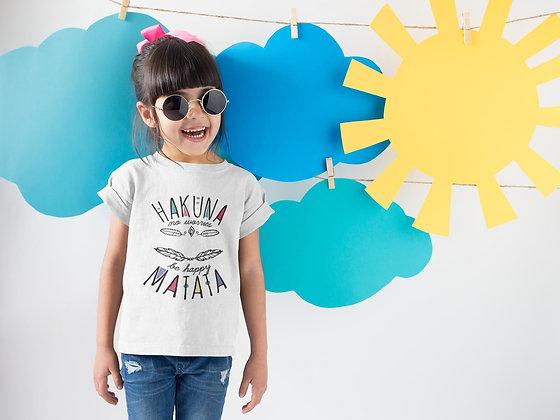 Tshirt/Sweat enfant Citation Hakuna Matata