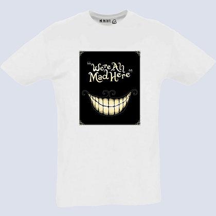 T-Shirt Unisexe Chat de cheshire Alice