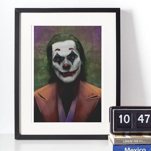 Affiche clown joker