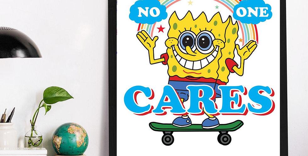 Affiche No one Care Bob 554