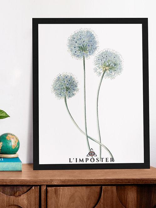 Affiche Illustration Bouquet de fleurs