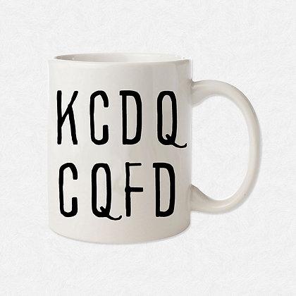 Mug KCDQ CQFD Citation