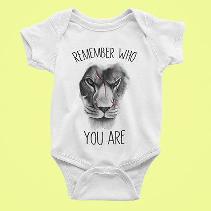 Body Bébé Remember you are