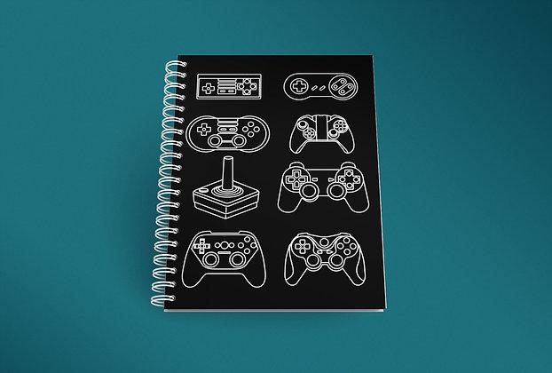 Cahier à spirale Gamers