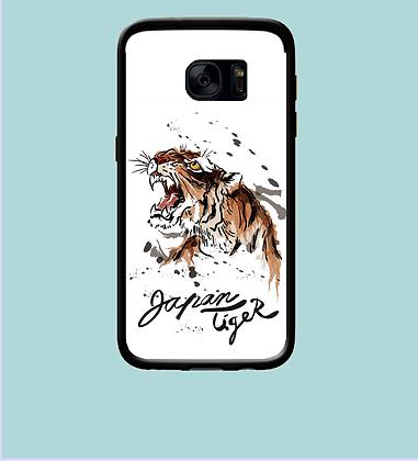 Coque mobile Samsung tigre Japan 346