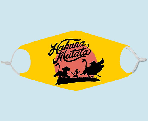 Masque de protection en tissu Hakuna Matata