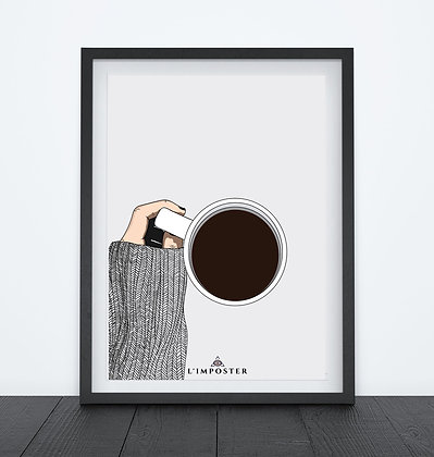 Affiche Give me a cofee 115