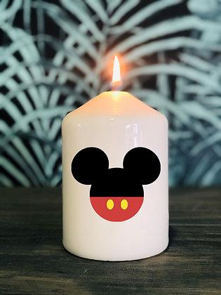 Bougie Silhouette de Mickey