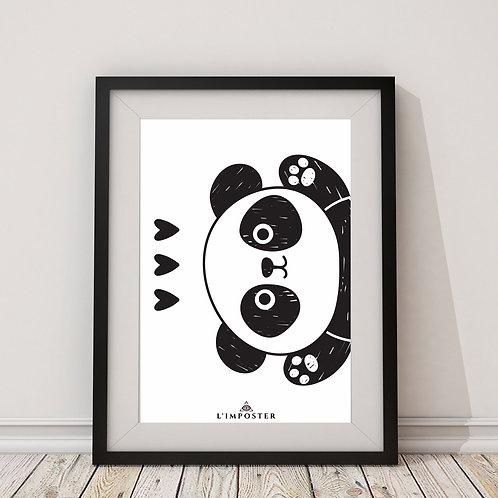 Affiche Panda Love