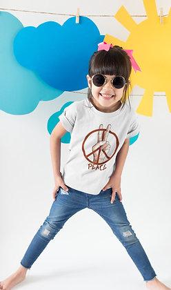 Tshirt Sweat enfant Peace and love