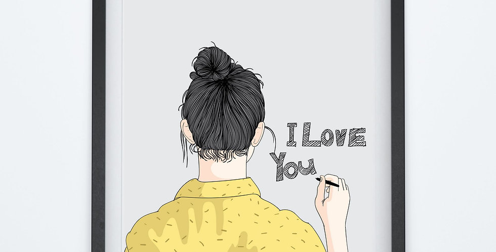 Affiche Woman i love you 119