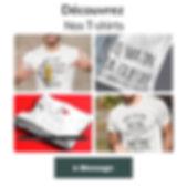 T-shirt à message citation