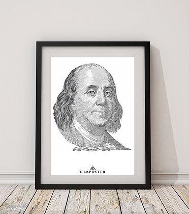 Affiche Benjamin Franklin 243