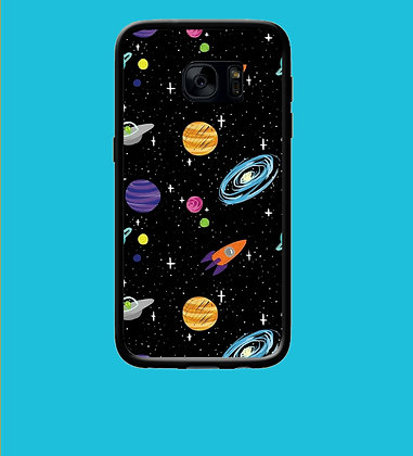 Coque mobile samsung planète 162