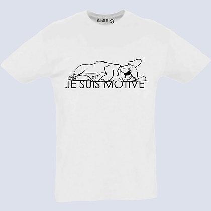 T-Shirt Unisexe Je suis motivé chien 205