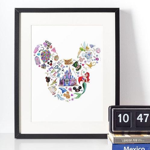Affiche Mickey et la magie Disney