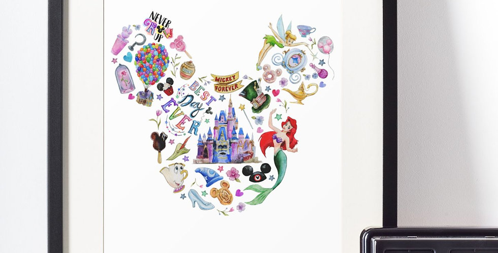 Affiche Mickey et la magie Disney 438