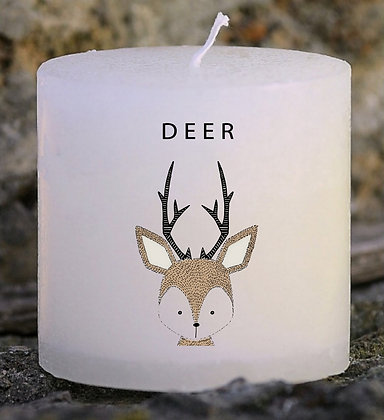 Bougie Personnalisée Nany Candle Deer funny