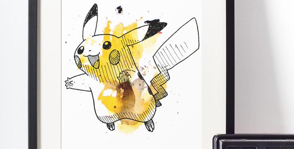 Affiche Dessin Pokemon 472