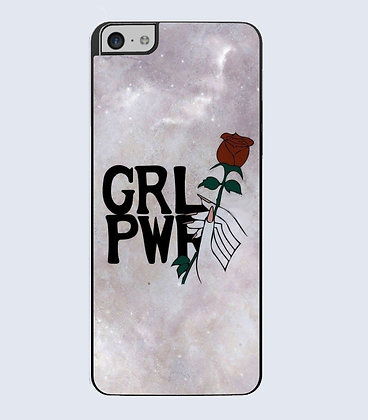 Coque mobile iPhone girl power 785