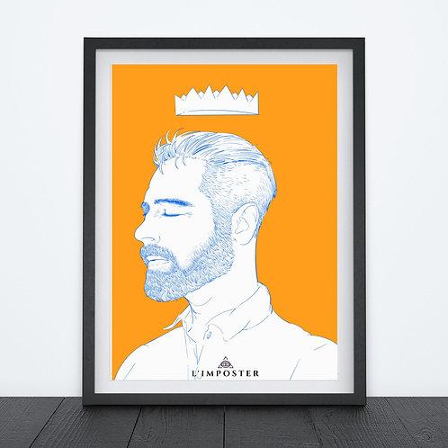 Affiche Homme King