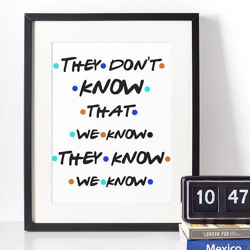 Affiche citation know