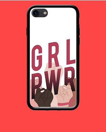 Coque mobile iPhone girl power 181