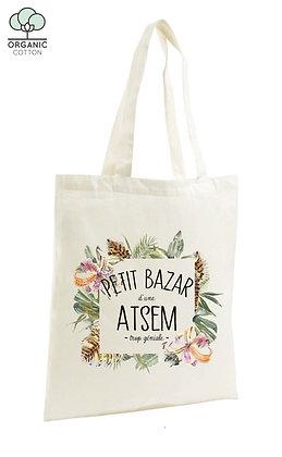 Tote Bag Petit bazar d'une atsem trop géniale