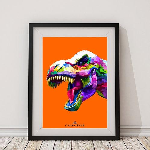 Affiche dinosaure 247