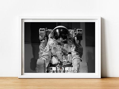Affiche astronaute