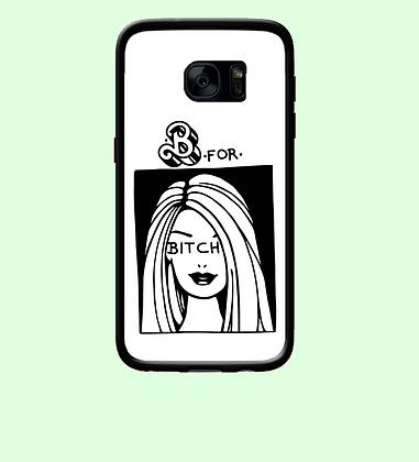 Coque mobile Samsung barbie bitch 308