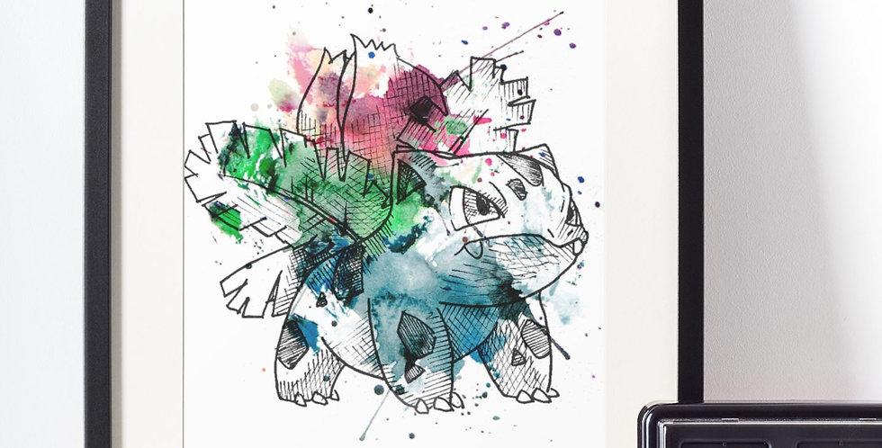 Affiche Dessin Pokemon 462