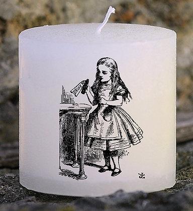 Bougie Personnalisée Nany Candle Alice et le pays des merveilles vintage