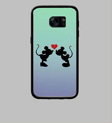 Coque mobile Mickey & Minnie amour 263
