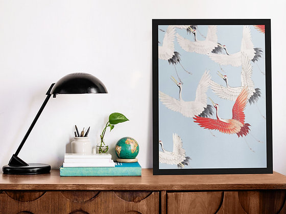 Affiche Illustration oiseau 364