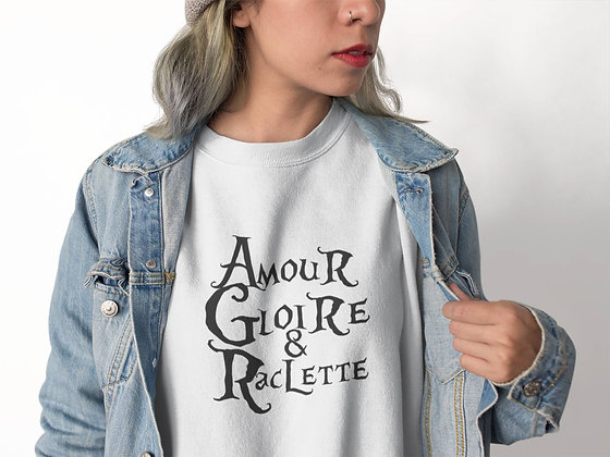Sweat Pull Over Amour gloire & raclette