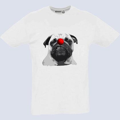 T-Shirt Unisexe Bouledogue français clown