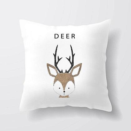 Housse de coussin Deer Illustration