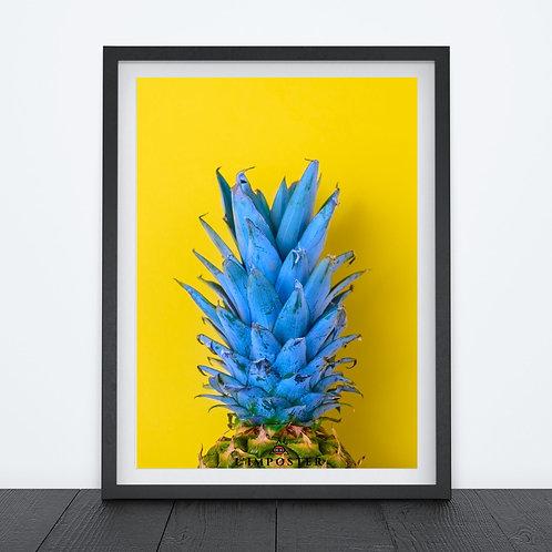 ananas bleu