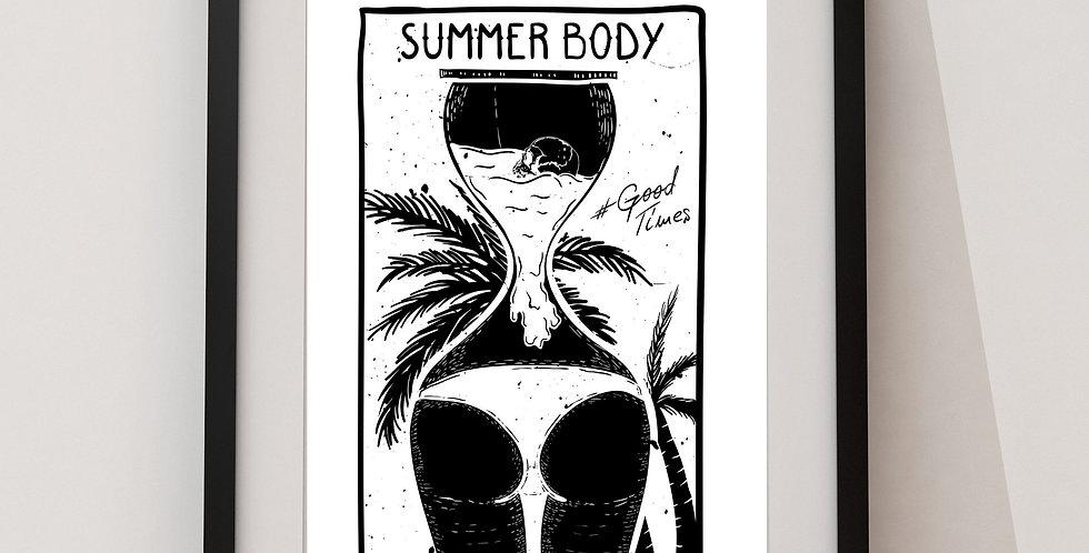 Affiche Summer body summer 85