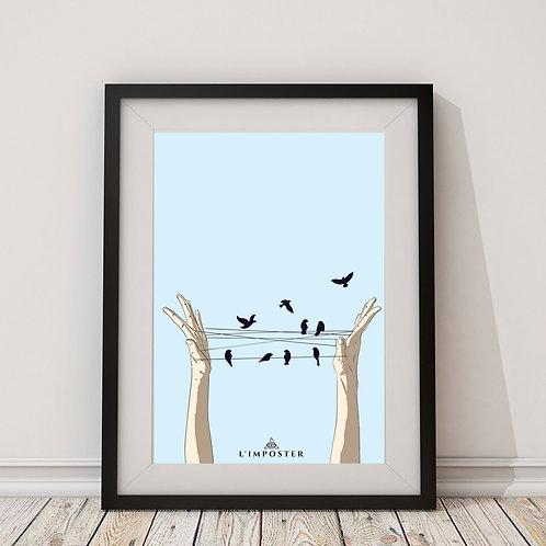 Affiche Fly birds