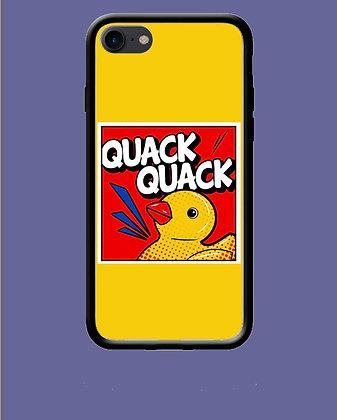 Coque mobile iPhone quack quack 77