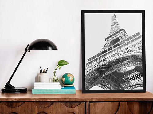 Affiche photographie tour Eiffel