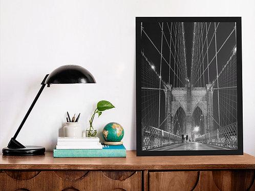 Affiche photographie pont