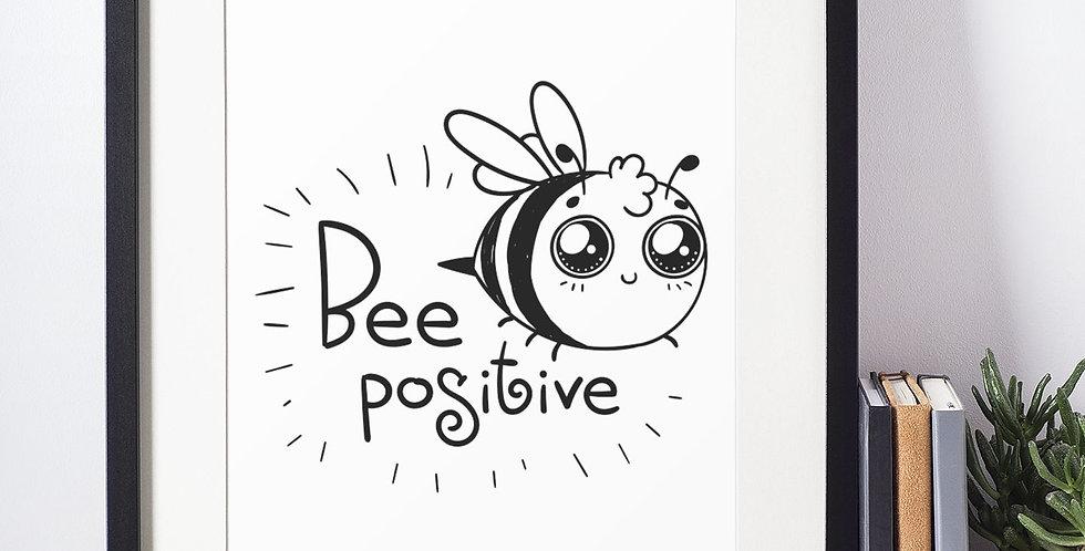 Affiche citation abeille 390